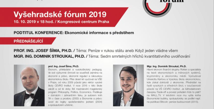 Vyšehradské fórum 2019 Praha